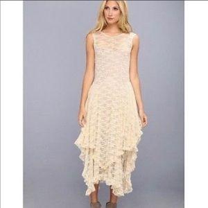 Intimately Free French Courtship Slip Lace  Dress